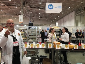 SIAL Canada international cheese contest judge